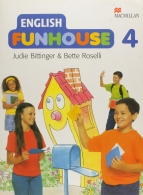 English Funhouse: Student´s Pack - Cd-audio + Fun Book 4