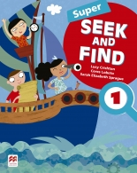 Super seek and find student''s book & digital pack