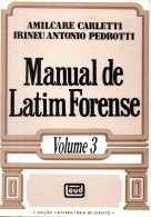 manual de latim forense - vol. 3