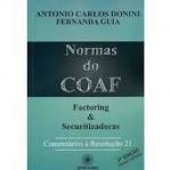 Normas do COAF - Factoring e Securitizadoras