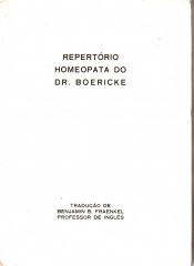 repertório homeopata do dr. boericke