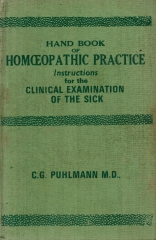 hand book of homoeopathic practice