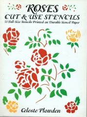 roses cut and use stencils