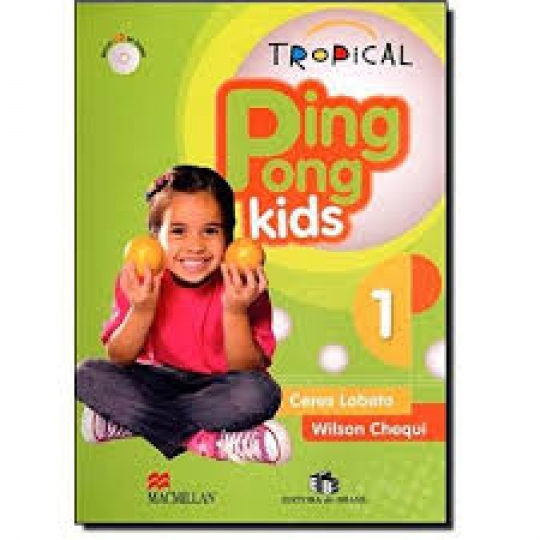 Tropical Pong Kids 1 - Students Pack With Audio Cd