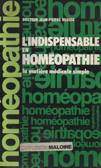 L'indispensable en - homéopathie - La matiére médicale simple