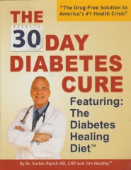 the 30 day diabetes cure : featuring : the diabetes healing diet