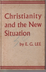 christianity and the new situation