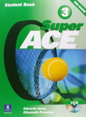 Super ACE 3. Student\'s Book Pack + VCD