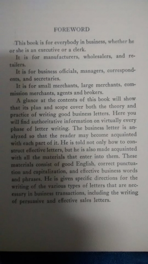 How to write good business letters