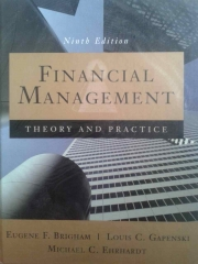 Financial Management: Theory and Practice - 9 Edição