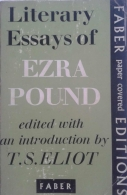 Literary Essays of Ezra Pound - Introduction by T. S. Eliot - 1 Edição