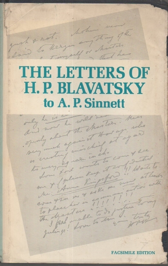 The Letters of H.P. Blavatsky to A.P. Sinnett