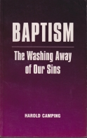 baptism the washing away of our sins