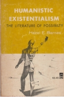 humanistic existentialism the literature of possibilty
