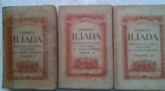 Homero Ilíada - 3 Volumes