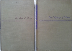 The Iliad - The Odyssey of Homer - 2 Volumes - 1 Edição