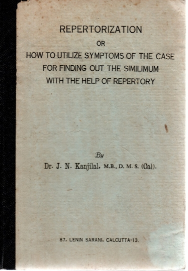 Repertorization or how to utilize symptons of the case for finding out the similimum with the help of repertory
