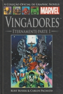 Livro Graphic Novels Marvel Ed. 44 - Vol 14 - Vingadores - Eternamente Parte 1