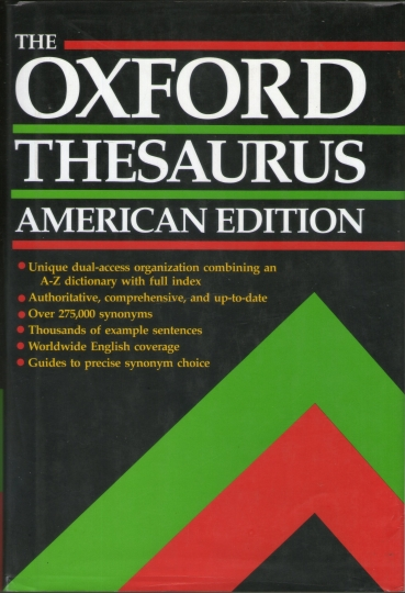 The Oxford Thesaurus American Edition