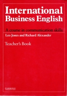international business english teacher's book