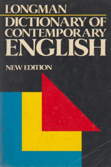 Dictionary of contemporary english - new edition