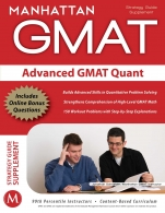 Advanced GMAT Quant Strategy Guide Supplement