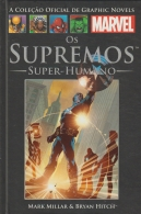 Livro Graphic Novels Marvel Ed. 05 - Vol 28 Os Supremos - Super Humanos