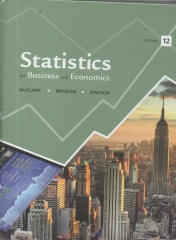 Statistics For Business and Economics 12ª Edition