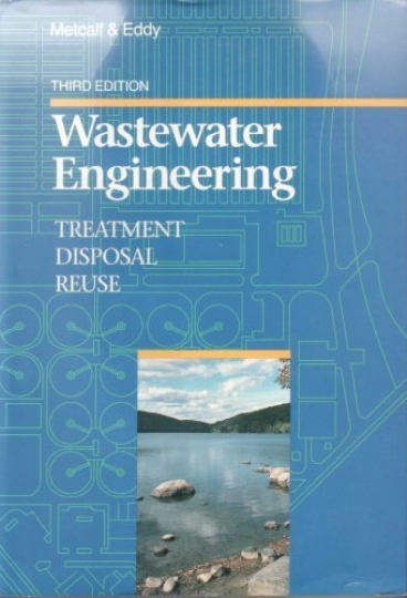 Wastewater Engineering - Treatment, Disposal, and Reuse - 3ª Edition