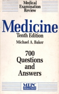 Medicine 700 questions and answers