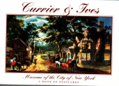 currier & ives a book of postcards