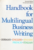 handbook for multilingual business writing