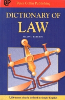 dictionary of law second edition