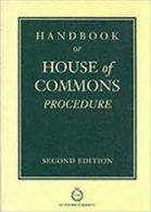 Handbook of House of Commons - 2ª Edition