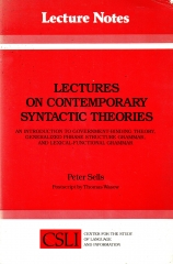 lectures on contemporary syntactic theories