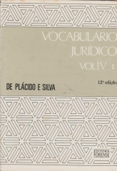 vocabulário jurídico - Vol IV - q - z