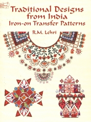 traditional designers india iron-on transfer patterns