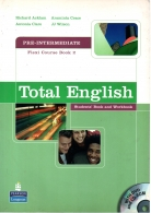 total english pre-intermediate 2 student's book and workbook