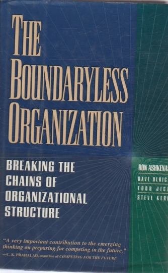 The boundaryless organization - breaking he chains of organizational structure