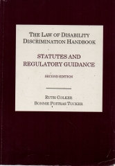 the law of disability discrimination handbook statutes and regulatory guidance