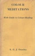 colour meditations - with guide to colour - healing
