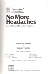 no more headaches