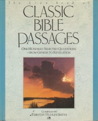 the lion book of classic bibles passages - one hundred selected quatations - genesis to revelation